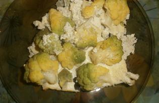 Брокколи в сметане (пошаговый фото рецепт)