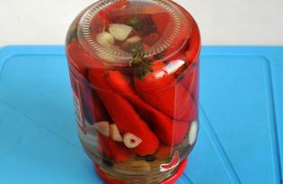 Засолка острого перца (пошаговый фото рецепт)