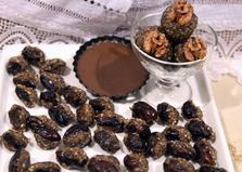 Конфеты с орехами и финиками (пошаговый фото рецепт)
