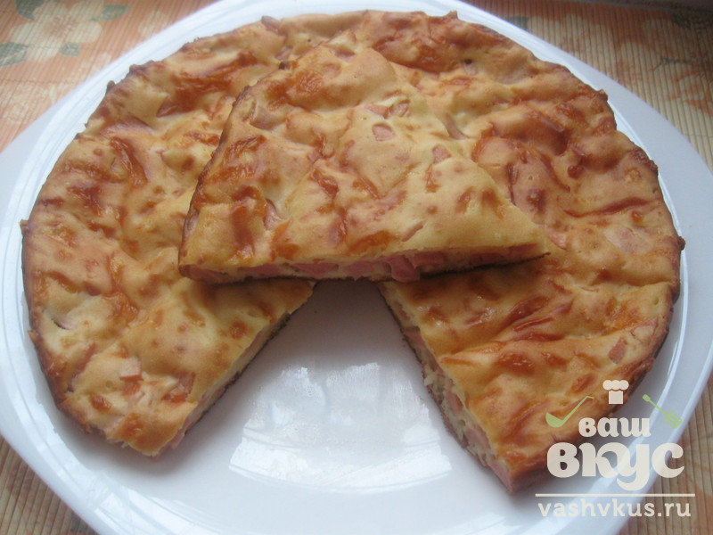 Пироги с колбасой рецепт пошаговый 81