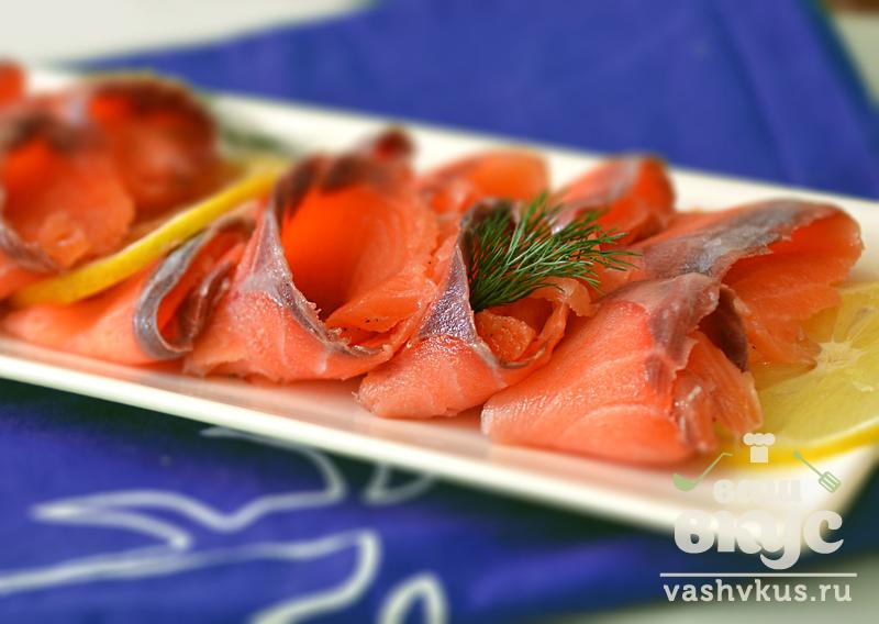 рыба рецепты красная Соленая