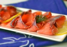 Соленая красная рыба (пошаговый фото рецепт)
