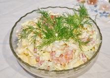 Салат с пекинской капустой и куриным филе (пошаговый фото рецепт)