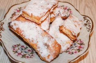 Простое печенье к чаю (пошаговый фото рецепт)