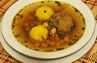 Кюфта-бозбаш (пошаговый фото рецепт)