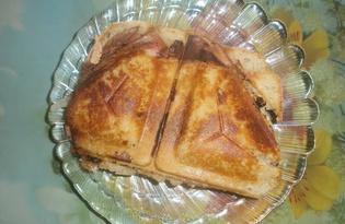 Горячие бутерброды в сэндвичнице (пошаговый фото рецепт)