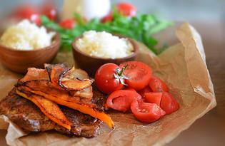 Окорочка-табака на сковороде гриль (пошаговый фото рецепт)