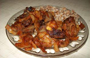 Свиное легкое жареное (пошаговый фото рецепт)