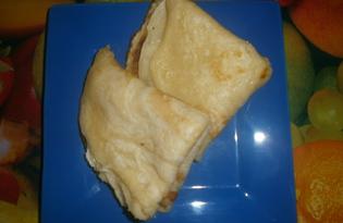 Блины с сахаром (пошаговый фото рецепт)