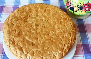 Морковный пирог с орехами (пошаговый фото рецепт)