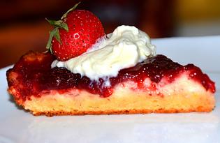 Пирог с творогом и вареньем (пошаговый фото рецепт)