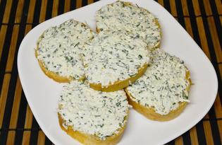 Острые бутерброды с брынзой (пошаговый фото рецепт)