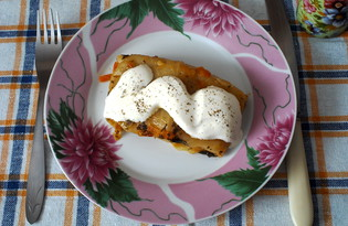 Голубцы в томатно-сметанном соусе (пошаговый фото рецепт)