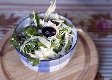 Салат из капусты с творогом (пошаговый фото рецепт)