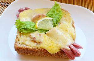 Горячий сэндвич по-королевски (пошаговый фото рецепт)