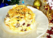 Салат с курицей и манго (пошаговый фото рецепт)