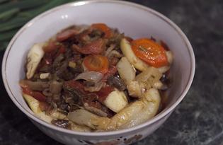 Соте овощное (пошаговый фото рецепт)