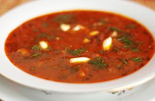 Мексиканский суп из фасоли и кукурузы (пошаговый фото рецепт)
