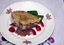 Картофельная запеканка с мясом в духовке (пошаговый фото рецепт)