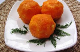 """Сырная закуска """"Яркие шарики"""" (пошаговый фото рецепт)"""