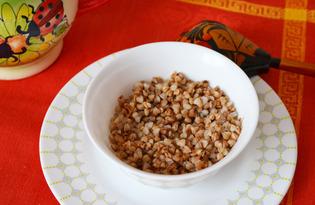 Рассыпчатая гречка (пошаговый фото рецепт)