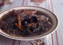 Куриный азиатский суп с бобовой лапшой, кабачками и грибами (пошаговый фото рецепт)