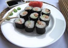Домашние роллы с тунцом (пошаговый фото рецепт)