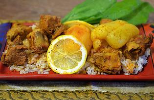 Подлива с бараниной к рису (пошаговый фото рецепт)