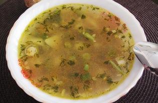 Гречневый суп со спаржевой фасолью (пошаговый фото рецепт)