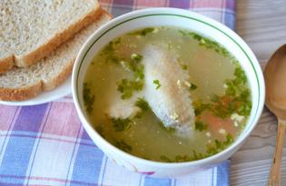 Куриный суп с вареным яйцом (пошаговый фото рецепт)