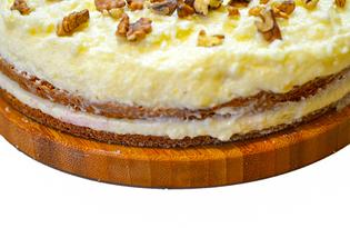 Крем для торта из манки с лимоном (пошаговый фото рецепт)
