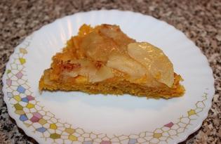 Морковно - яблочный тарт (пошаговый фото рецепт)