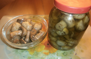 Маринованные грибы в домашних условиях (пошаговый фото рецепт)