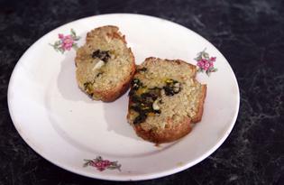 Хлеб с начинкой из крапивы (пошаговый фото рецепт)