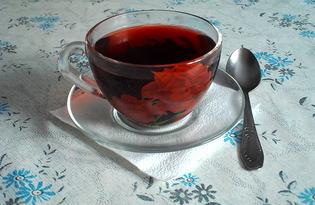 "Чай ""Чёрная роза"" (пошаговый фото рецепт)"