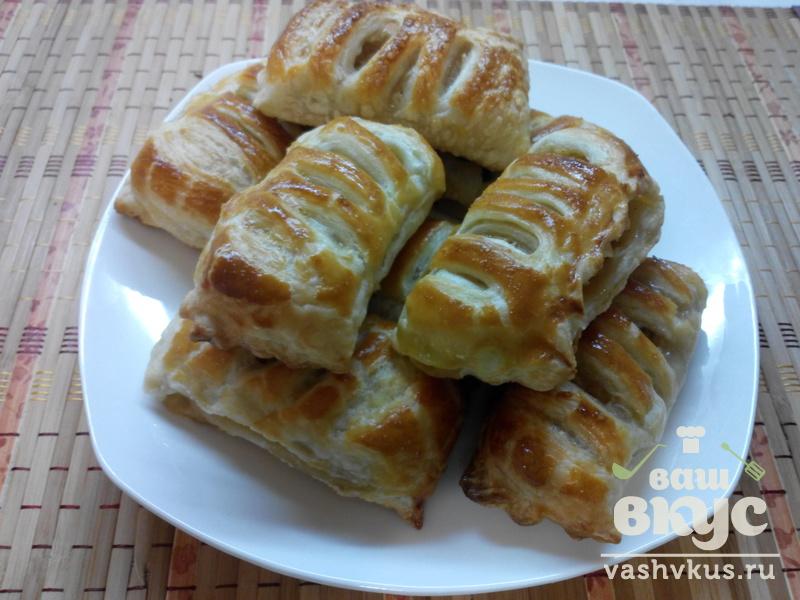 Сочные слойки с яблоками - пошаговый рецепт с фото на Повар. ру