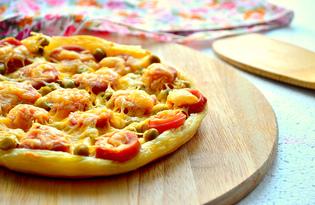 Мини-пицца для ленивых (пошаговый фото рецепт)