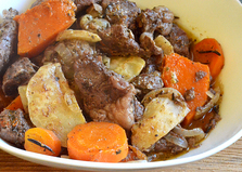 Мясо с овощами в рукаве (пошаговый фото рецепт)
