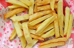 Картошка жареная во фритюре (пошаговый фото рецепт)