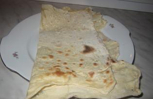 Армянский лаваш тонкий (пошаговый фото рецепт)