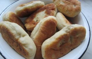 Пирожки с грибами и курицей (пошаговый фото рецепт)