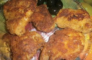 Кусочки свинины в кляре (пошаговый фото рецепт)