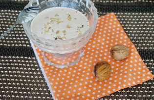 Соус из сметаны и грецких орехов (пошаговый фото рецепт)