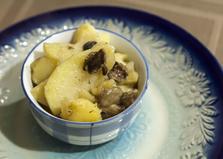 Жареный картофель с маслятами (пошаговый фото рецепт)