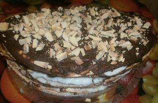 Торт «Фантазия» (пошаговый фото рецепт)
