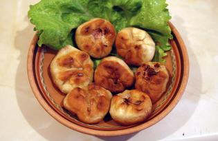 Жареные дамплины с тыквой и свининой (пошаговый фото рецепт)