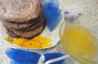 Американские панкейки с грецкими орехами (пошаговый фото рецепт)