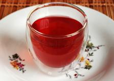 Яблочно - брусничный морс с каркаде (пошаговый фото рецепт)