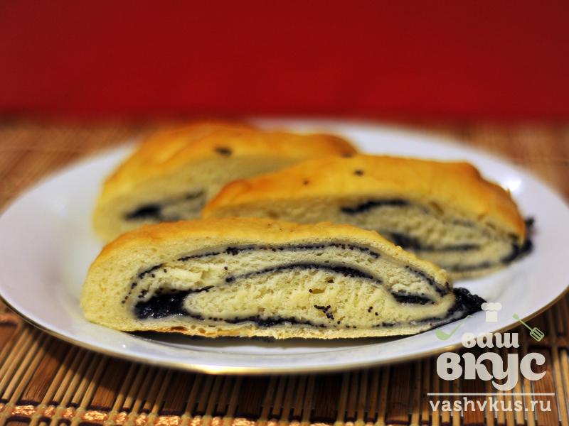 Рецепт пирожков с маком из дрожжевого теста