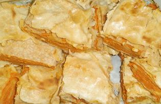 Плацинда с тыквой (пошаговый фото рецепт)